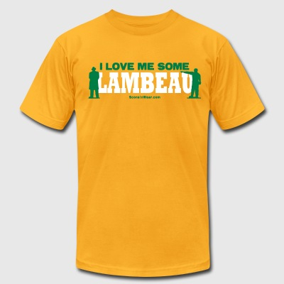 I Love Me Some Lambeau T-Shirts - Men's T-Shirt by American Apparel