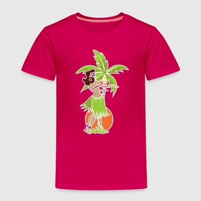Hula Honey - Orange - Toddler Premium T-Shirt