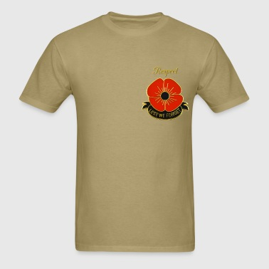 Lest we forget - Men's T-Shirt