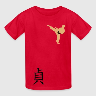 Meaning of Black Belt: Integrity red kids T shirt - Kids' T-Shirt