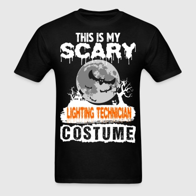This is my Scary Lighting Technician Costume - Men's T-Shirt