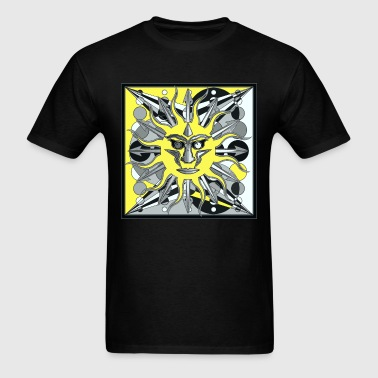 ANGRY SUN ONE 1 - Men's T-Shirt
