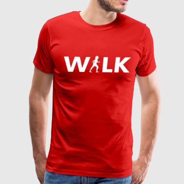 Walk T-shirt - Men's Premium T-Shirt