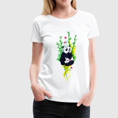 Little Panda T-Shirt - Women's Premium T-Shirt