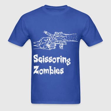 Scissoring Zombies 2 White - Men's T-Shirt
