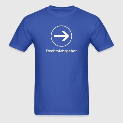 Rechtsfahrgebot (Keep Right) T-Shirt - Men's T-Shirt
