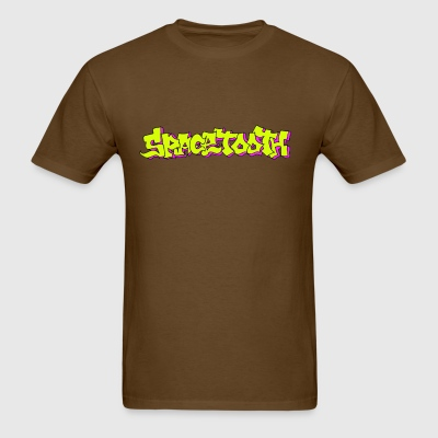 Spacetooth Logo  - Men's T-Shirt