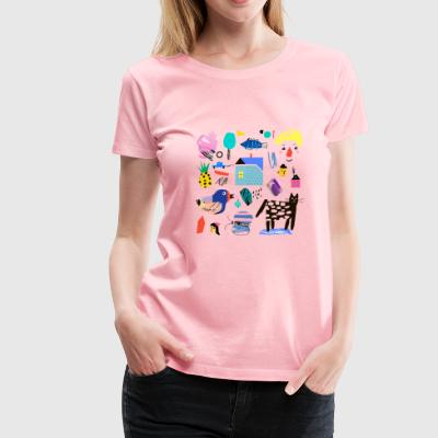 CUT OUT ART - Women's Premium T-Shirt