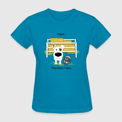Barn Hunt Smooth Jack Russell Terrier - Women's T-Shirt