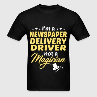 Newspaper Delivery Driver - Men's T-Shirt