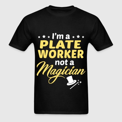 Plate Worker - Men's T-Shirt