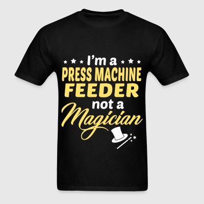 Press Machine Feeder - Men's T-Shirt