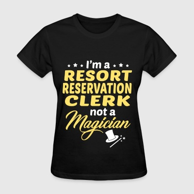 Resort Reservation Clerk - Women's T-Shirt