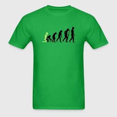 Alien - Human Evolution T-Shirts - Men's T-Shirt
