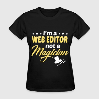 Web Editor - Women's T-Shirt