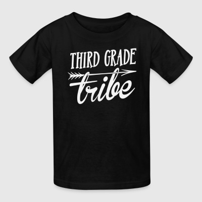 3rd Third Grade Tribe Back To School T-Shirt Kids' Shirts - Kids' T-Shirt