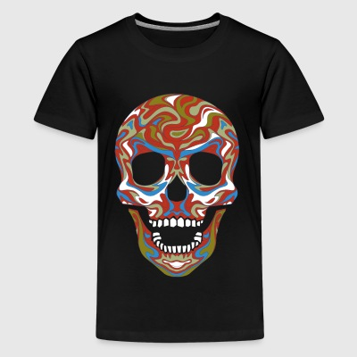 color skull Kids' Shirts - Kids' Premium T-Shirt