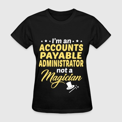 Accounts Payable Administrator - Women's T-Shirt