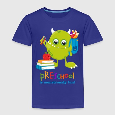 Monster Preschool Fun Baby & Toddler Shirts - Toddler Premium T-Shirt