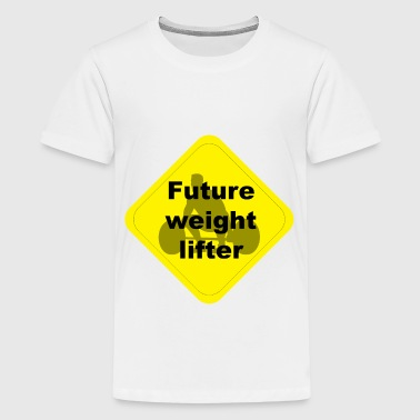 Future weight lifter - Kids' Premium T-Shirt