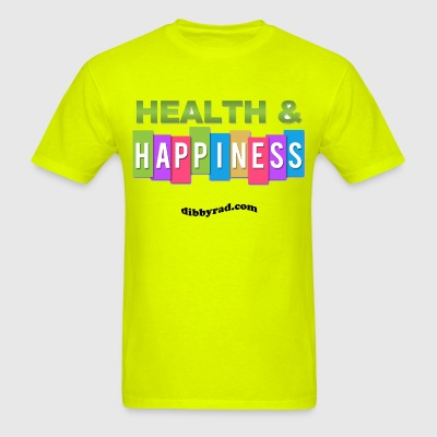 Health and Happiness - Men's T-Shirt