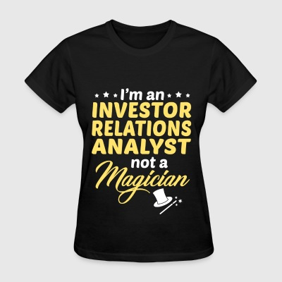 Investor Relations Analyst - Women's T-Shirt