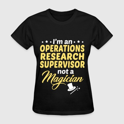 Operations Research Supervisor - Women's T-Shirt