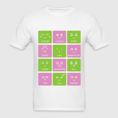 EXO Emoticons - Men's T-Shirt