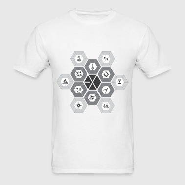 EXO - Hexagon Power - Men's T-Shirt