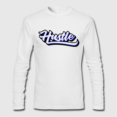 Hustle.png Long Sleeve Shirts - Men's Long Sleeve T-Shirt by Next Level