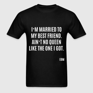 BlackLoveQuotesCouples T-Shirts - Men's T-Shirt