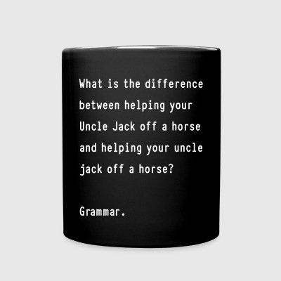 The Difference of Grammar - Full Color Mug