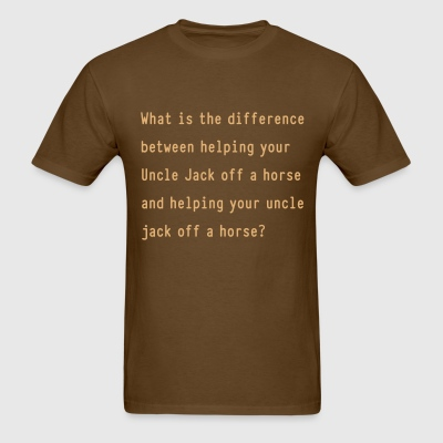 The Difference of Orthography - Men's T-Shirt