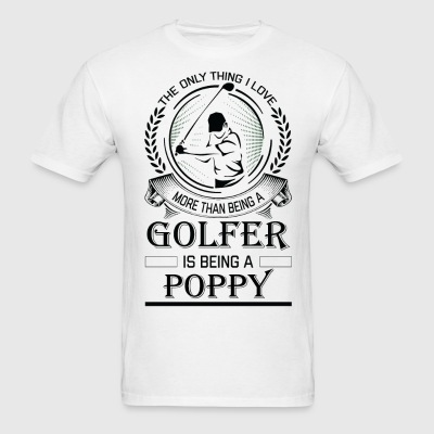 Golfer Poppy T-Shirts - Men's T-Shirt