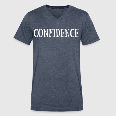 Confidence - Men's V-Neck T-Shirt by Canvas