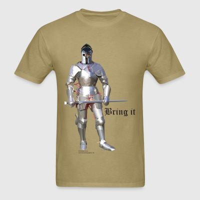 Plate Armor Bring it men's standard T - Men's T-Shirt