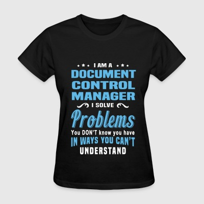 Document Control Manager - Women's T-Shirt