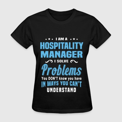 Hospitality Manager - Women's T-Shirt
