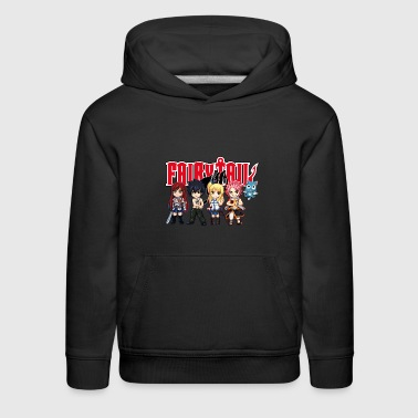 The Great Demon Group of Fairy Tail Anime - Kids' Premium Hoodie