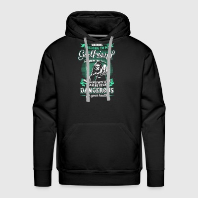 WARNING! I Belong To My Girlfriend - Men's Premium Hoodie