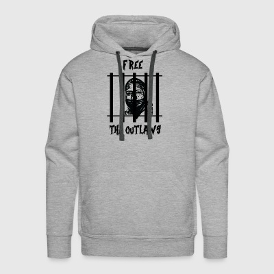 Free the Outlaws - Men's Premium Hoodie