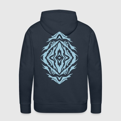 Sangoma Full Logo Vertical Hoodies - Men's Premium Hoodie
