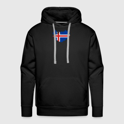 Flag of Iceland - Men's Premium Hoodie