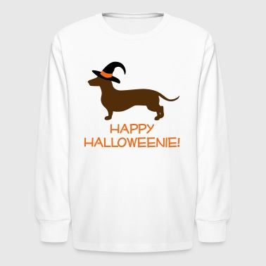 Happy Halloweenie - Kids' Long Sleeve T-Shirt