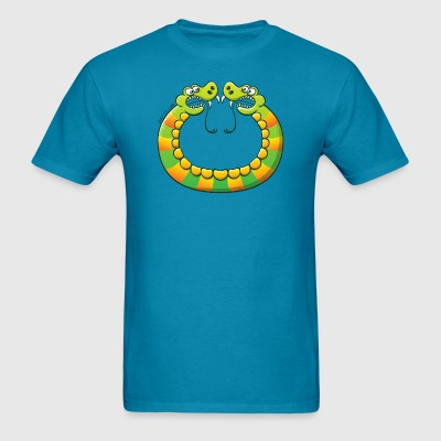 Scary double headed snake T-Shirts - Men's T-Shirt