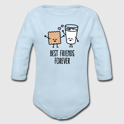 Best friends forever Baby Bodysuits - Long Sleeve Baby Bodysuit