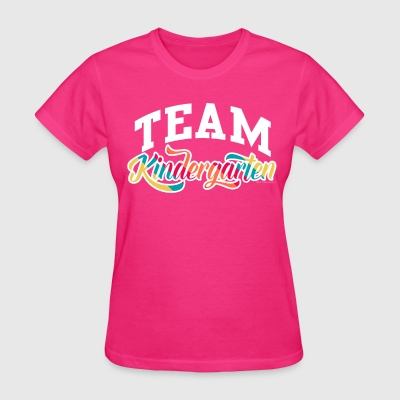 Team Kindergarten Teacher T-Shirts - Women's T-Shirt