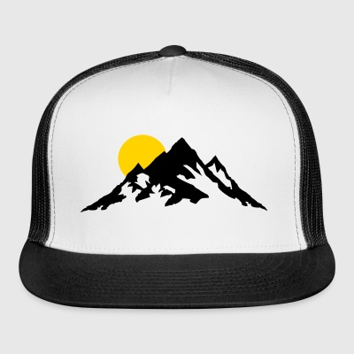 Moutain and Sunrise, Mountains Sportswear - Trucker Cap