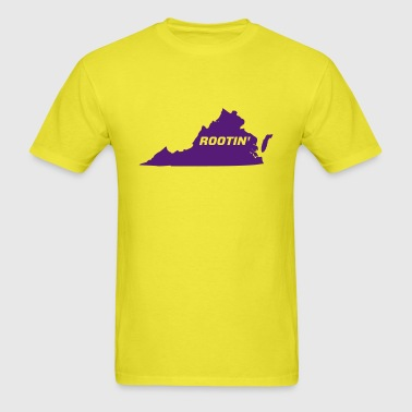 JMUSB Rootin' t-shirt in Yellow - Men's T-Shirt