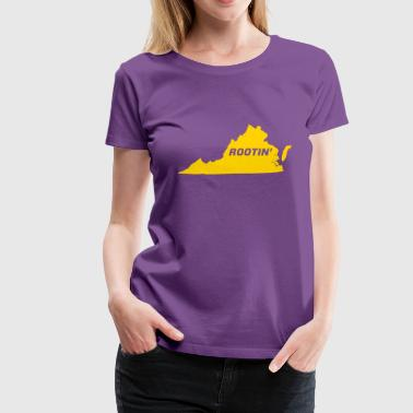 Ladies Rootin' Purple - Women's Premium T-Shirt